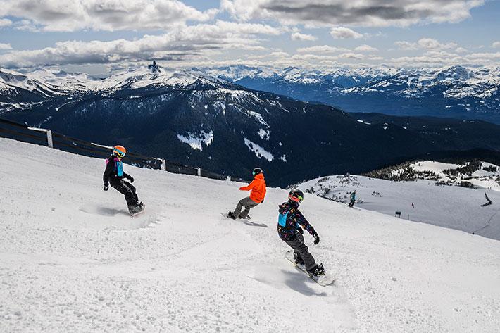 Whistler Blackcomb, snow school, winter skiing, snowboarding