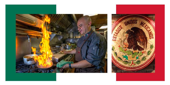 Juan Carlos Pérez. Mexican Corner, Mexican food.