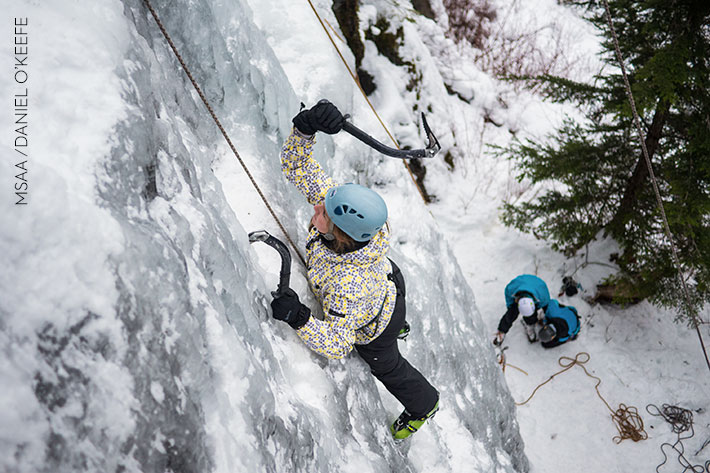 Mountain Skills Academy and Adventures, ice climbing