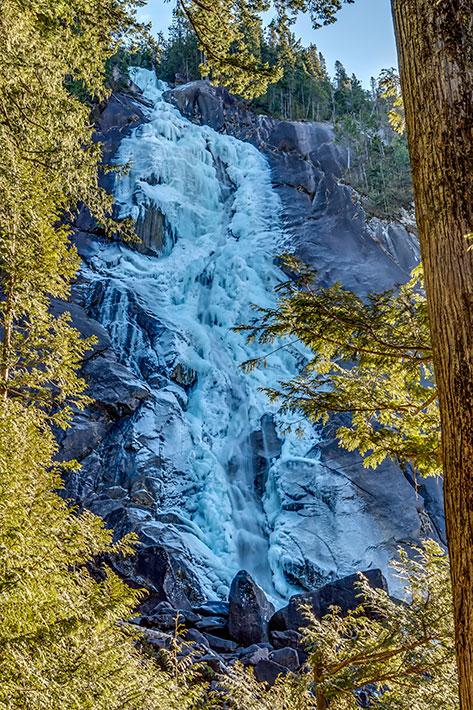 Squamish Shannon Falls