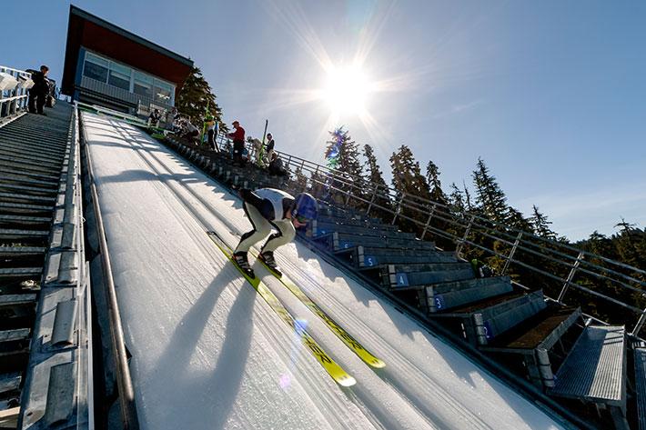 Whistler Olympic Park, Sofia Aragon