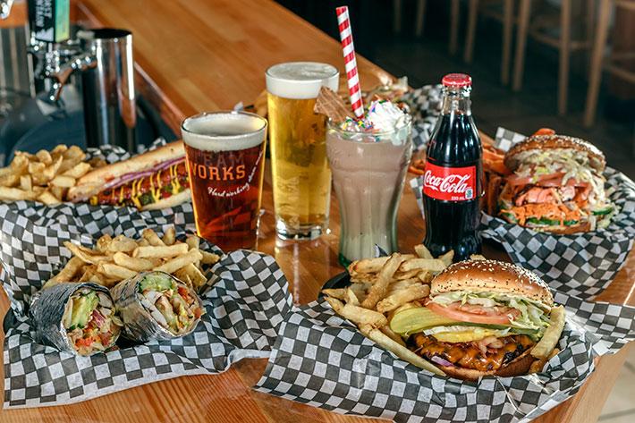 Whistler, Splitz Grill, burgers.
