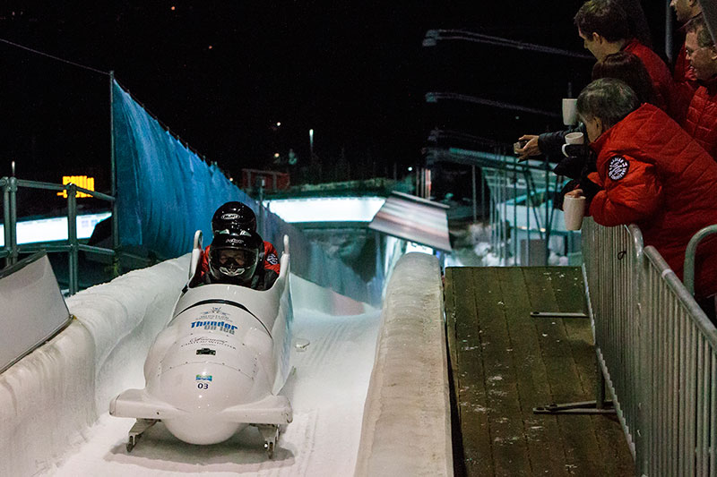 Whistler Sliding Centre and Passenger Bobsleigh