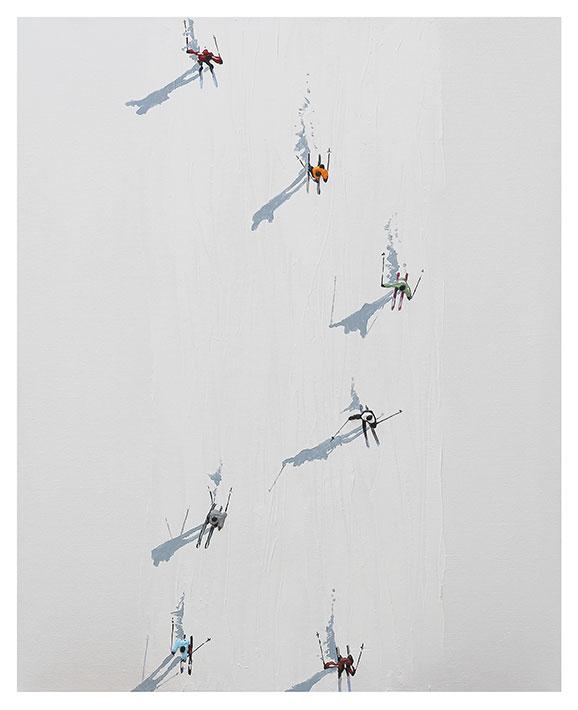 Snow Series Gloria Estefanell Whistler Contemporary Gallery