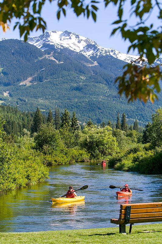 kayak backroads whistler river of golden dreams