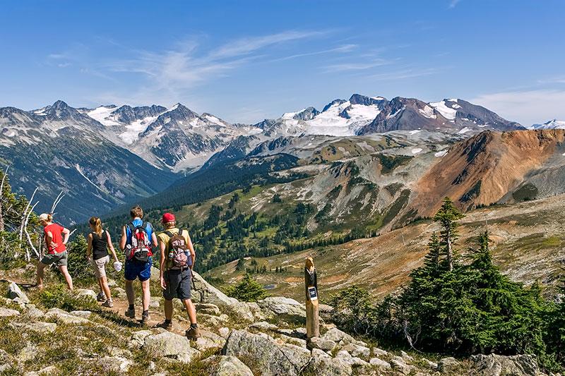 whistler hiking blackcomb alpine hiking