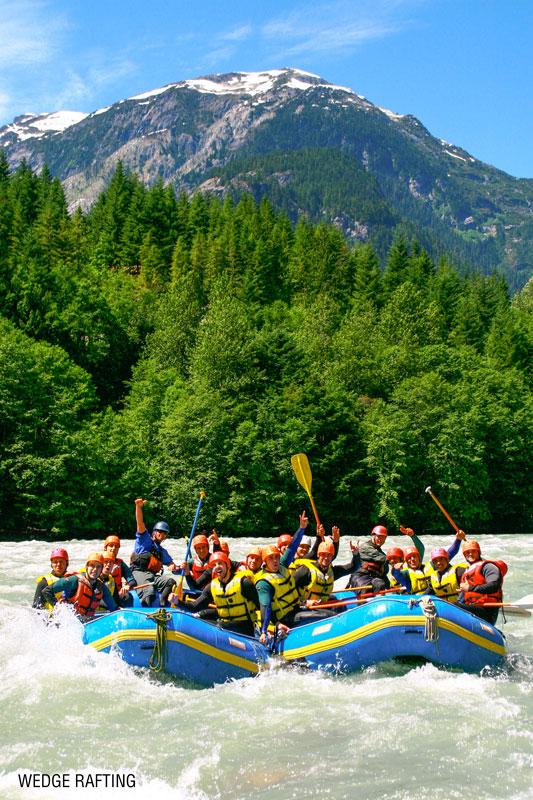 wedge rafting whitewater rafting