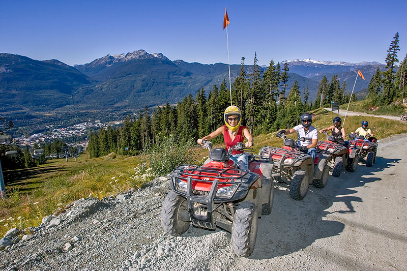 canadian wilderness adventures atv blackomb mountain