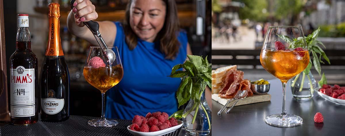 Whistler bars, Sidecut Bar, Four Seasons, cocktails.