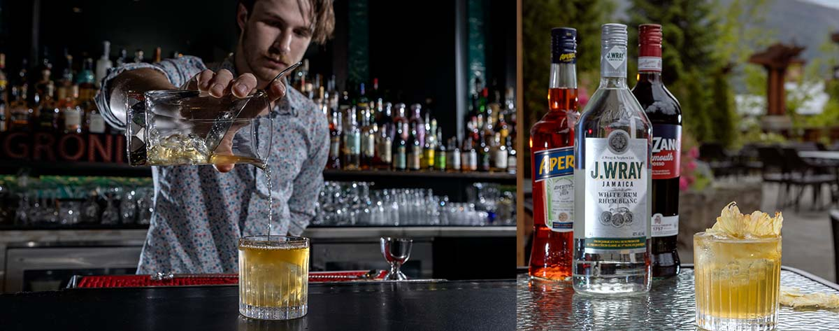 Whistler bars, cocktails, The Raven Room